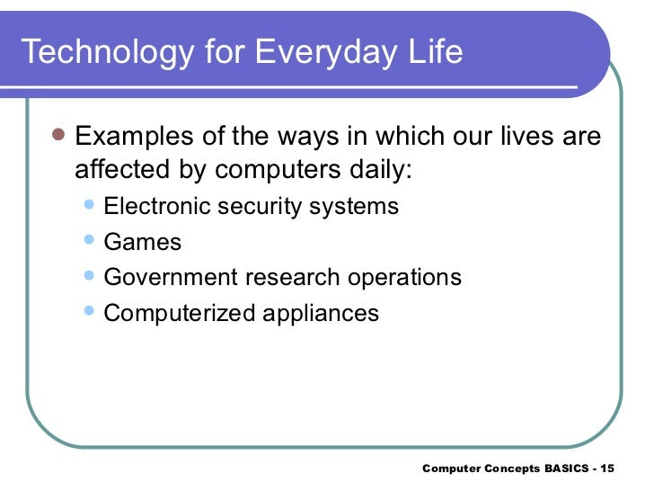 technology and its uses essay