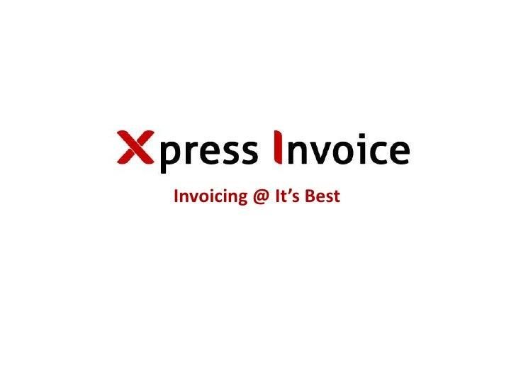 Invoicing @ It's Best<br />