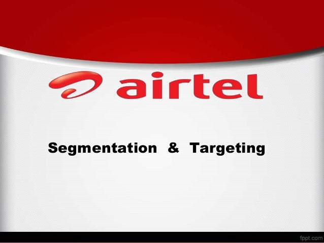 Ppt market segmenttation