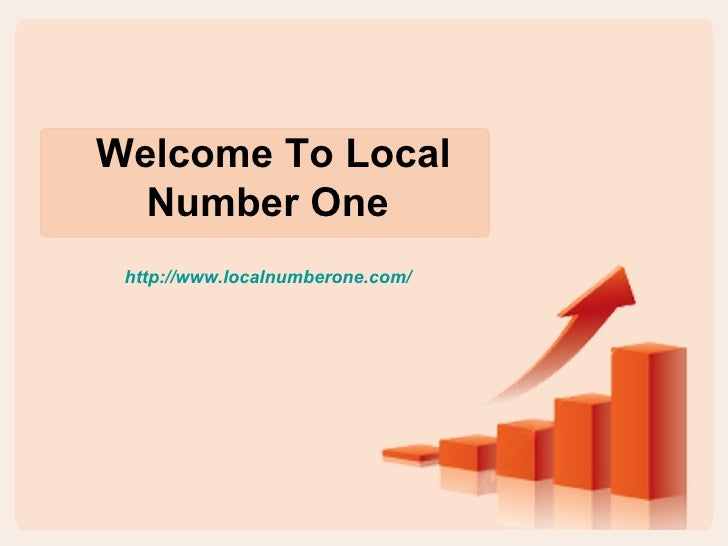 Welcome To Local  Number One http://www.localnumberone.com/