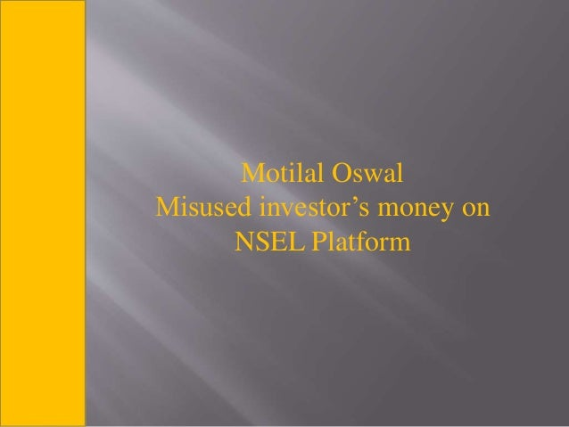 "project report on motilal oswal finance Master of business administration program summer internship report ""study on portfolio management services strategies and investors awareness and prefrence for it"" mosl hopes to add franchisees with a good track record and a reputation in financial services or social circles/other business ."