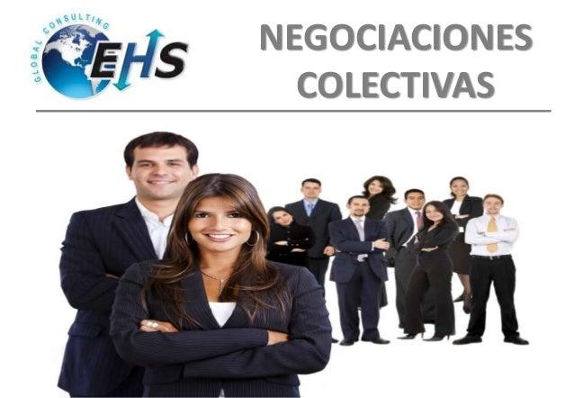 NEGOCIACIONES COLECTIVAS