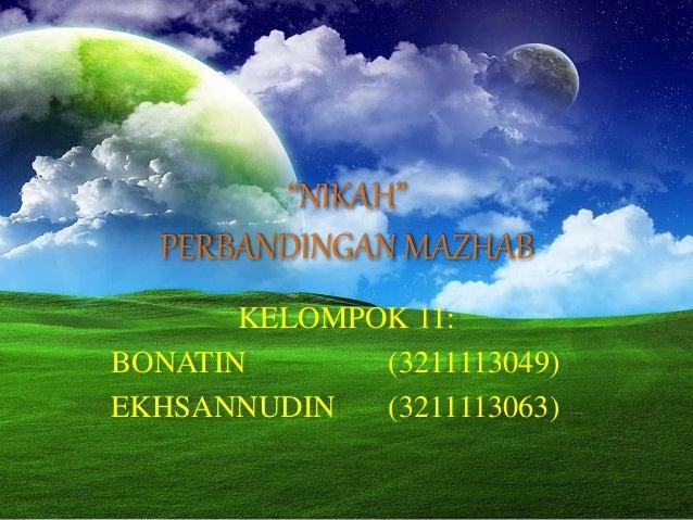 PPT Nikah 4 Mazhab