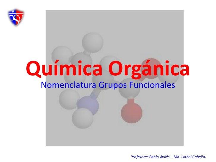 Ppt nomenclatura orgánica
