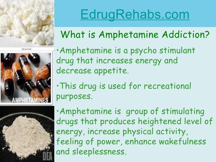 Amphetamine research paper