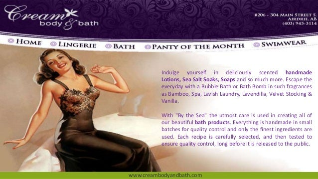 Ppt of cream body and bath online shop