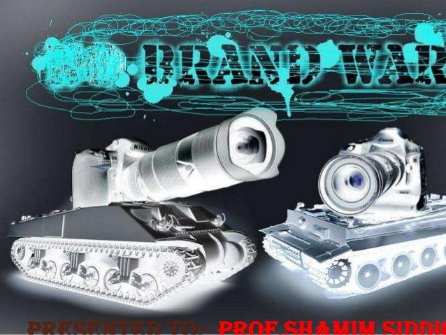 Ppt of shamim sir brand war