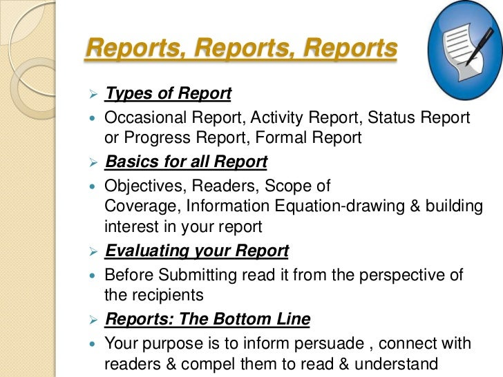 What Are the Types of Report Writing?