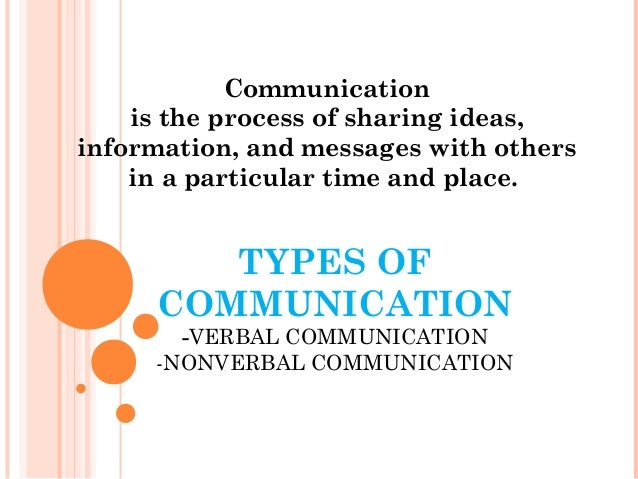 communtication