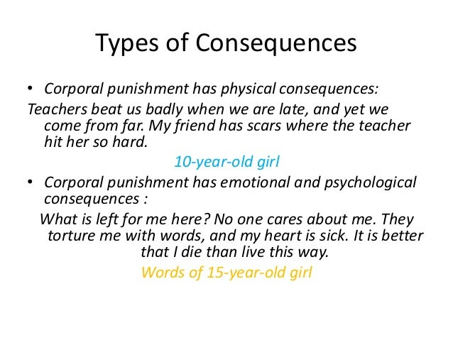Argumentative Essay On Corporal Punishment