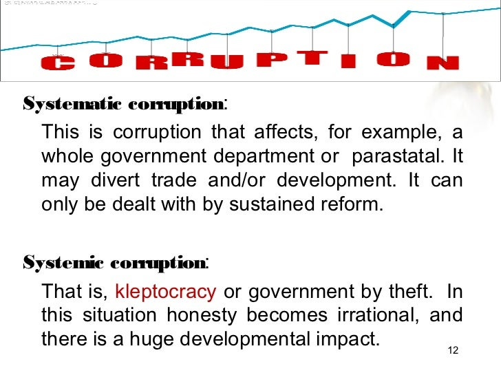 essay on civil society and corruption