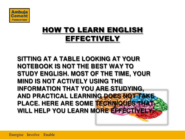 effective ways to improve english There have been numerous ways in which we have taught english learners,  however,  effective strategies that will improve the writing skills of esl students.