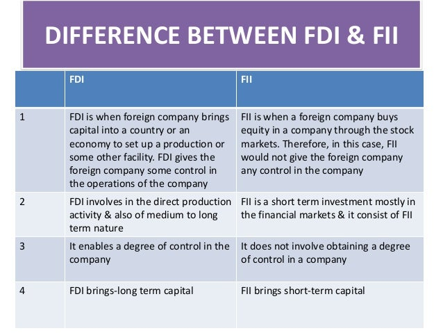 research paper impact fii indian stock market Indian stock market to study the indian stock market in depth fii, entrance and operations in indian stock markets to understand the impact of important.