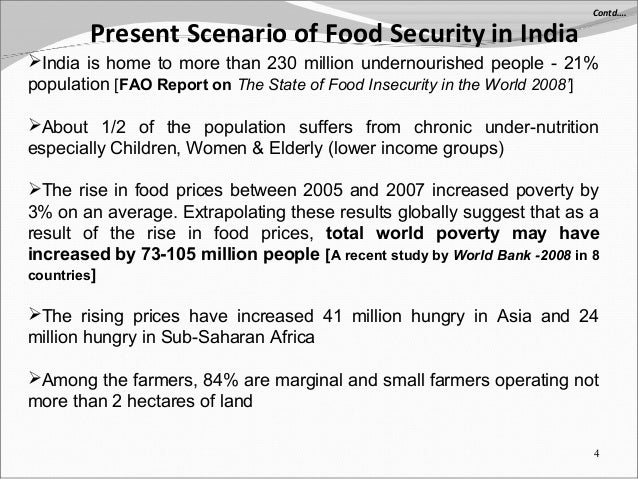 Food Security Essay