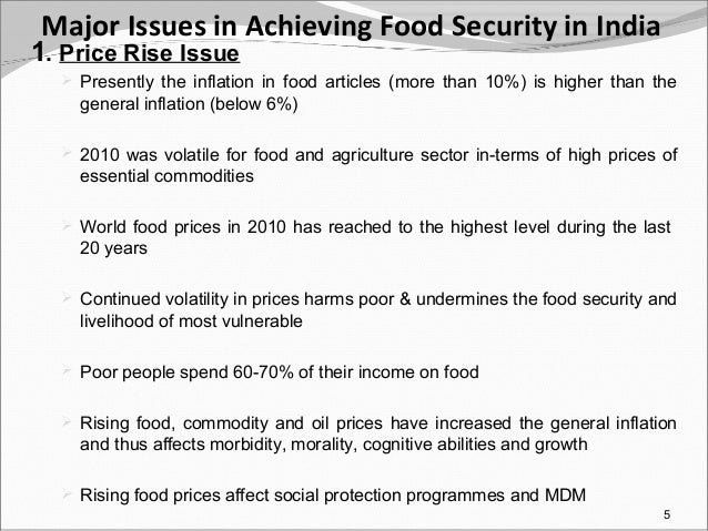 food security essay question Three essays on food insecurity and child welfare three essays on food insecurity and child welfare appendix 18-question core food security module 133.