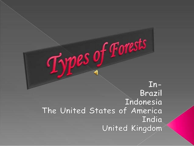 Ppt on forests