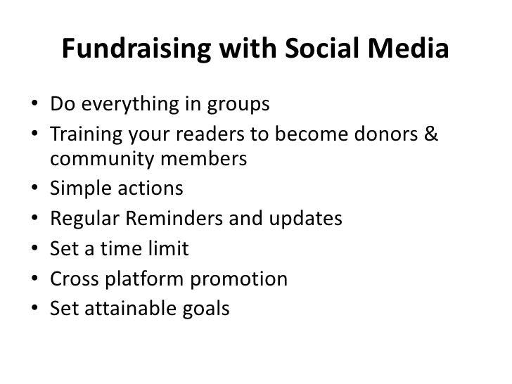 Fundraising with Social Media