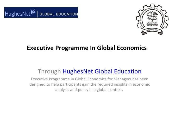 Ppt on global economics