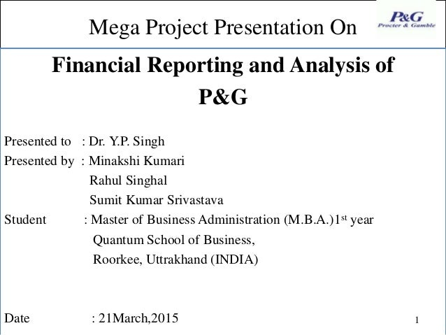 financial analysis p g Amigobulls pg stock analysis takes into account various financial ratios like  relative valuation, p&g revenue, growth and return on equity based on latest  quarter.