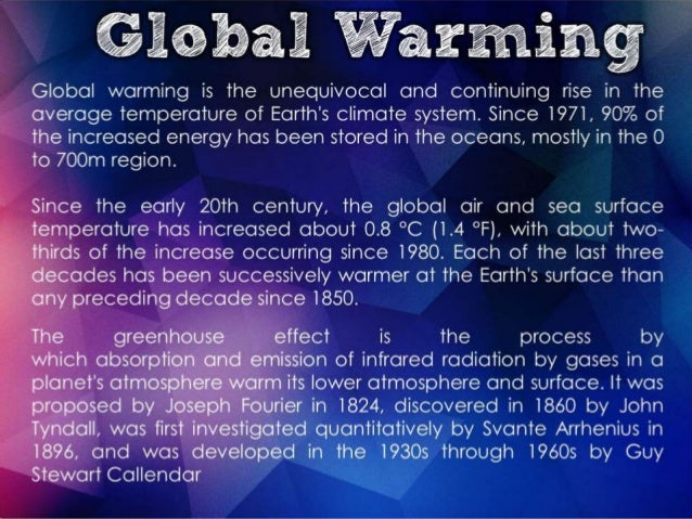 Thermal pollution vs. global warming?