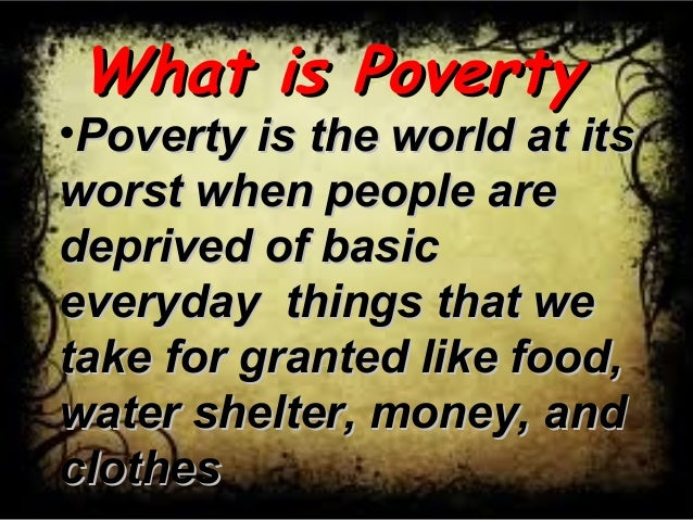essay on robotization and world poverty Poverty is one of the main causes of hunger in the united states poverty is one of the main causes of hunger in the united states source: world food programme you might also like: february 2018 mover of the month.