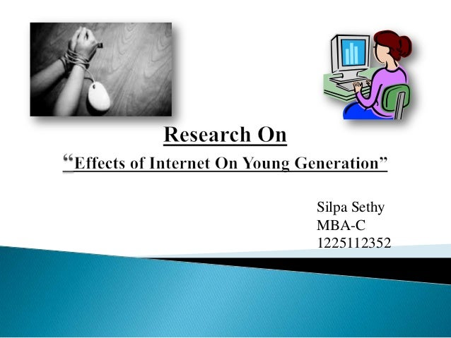 the internet and its effect on