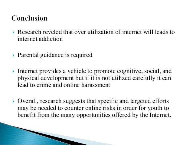 bad effects of internet on youth Internet impacts on youth about positive and negative aspect - the most negative effect it had in my life was i messed up my studies when it was the most important time for me to do it ie xiith grade what are the positive and negative impact of the internet and social media on teens.