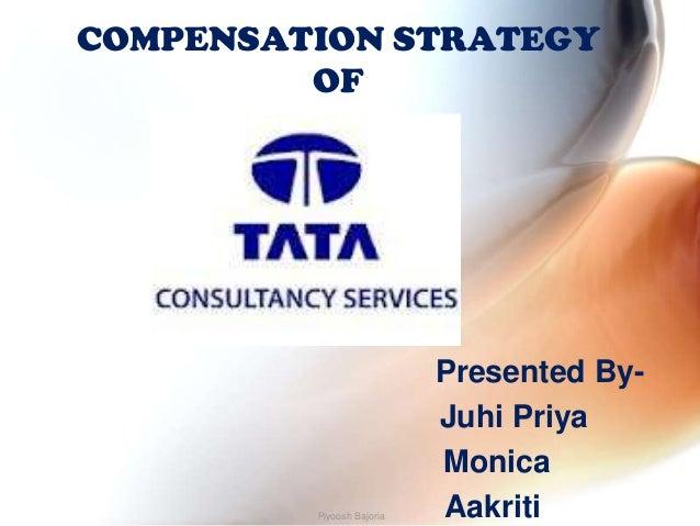 COMPENSATION STRATEGY         OF                           Presented By-                           Juhi Priya             ...