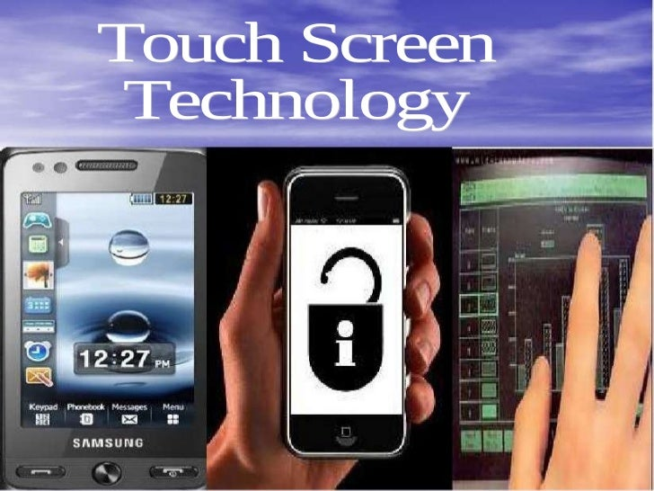 Ppt on touch screen