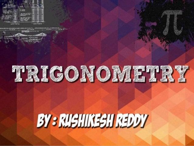 ppt on trigonometric functions  class 11