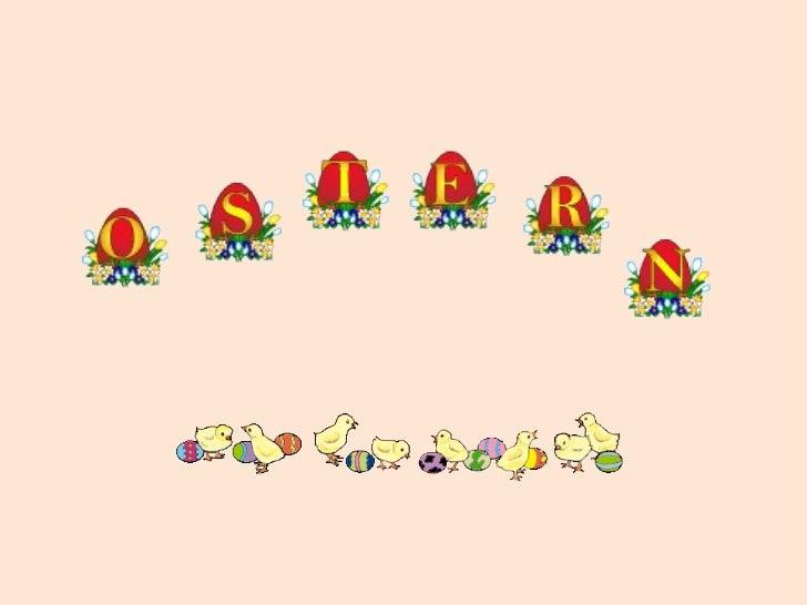 O S T E R N IND E U TS C H L A N D  Wann ist Ostern im Jahr          2012?