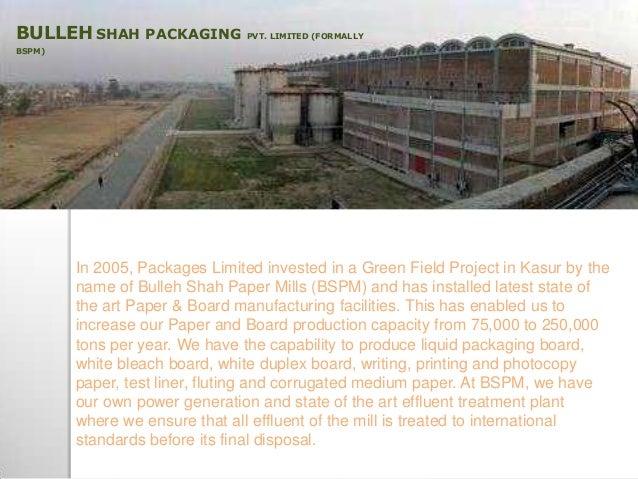 Bulleh Shah Packaging Pvt