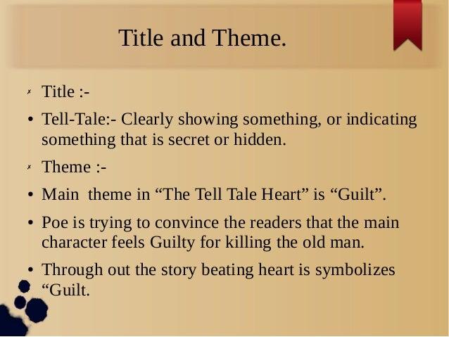 Tell tale heart rising action plot / Human weapon season 1 episode 1