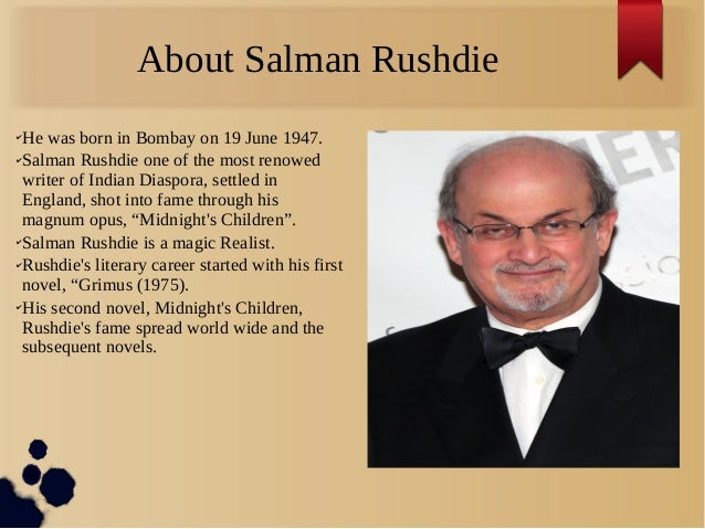 midnights children essays Tracing the dynamics of politics: rushdie's midnight's children salman rushdie' s  eds salman rushdie: critical essays-1 new delhi: atlantic, 2006print.