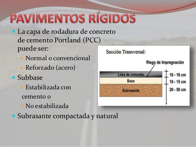 Ppt pavimento rigido - Tipos de pavimentos ...