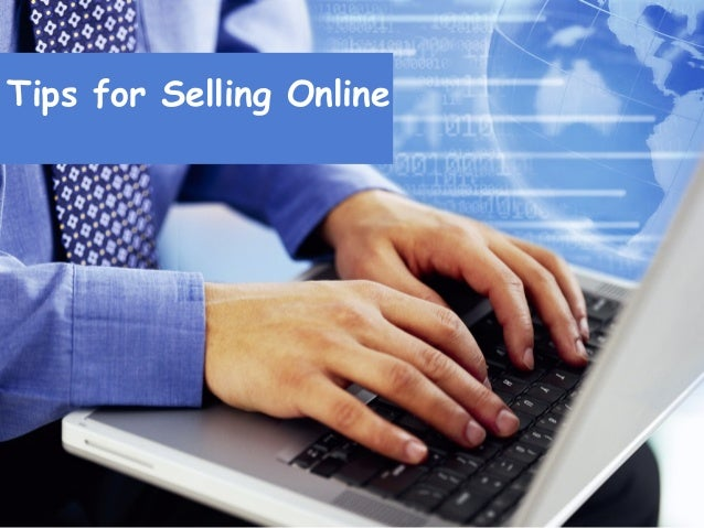 Tips for Selling Online