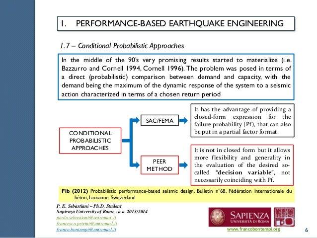 Phd thesis earthquake engineering