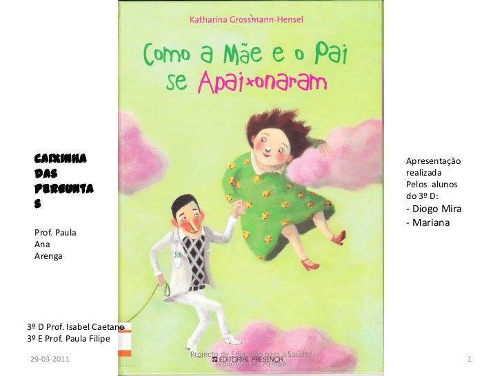 29-03-2011<br />1<br />Projecto de Educação para a Saúde/ Biblioteca M. Pombo<br />Caixinha das <br />Perguntas<br />Prof....