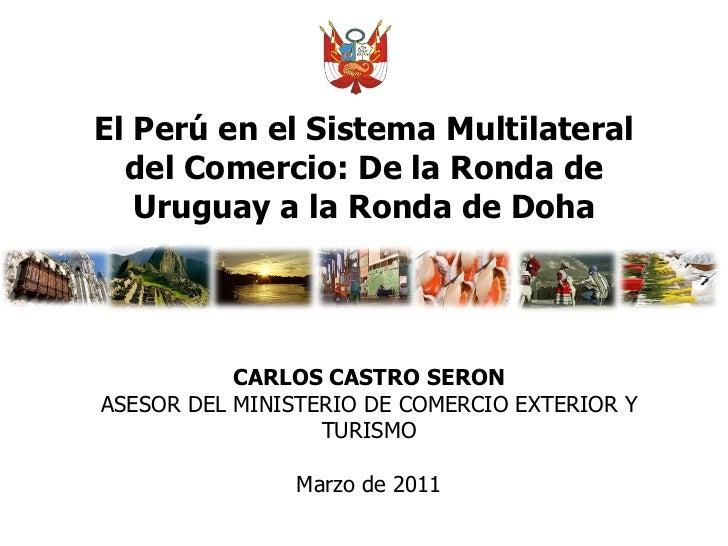 El Perú y la Organización Mundial del Trabajo (OMC)
