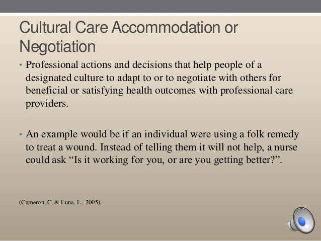 transcultural nursing paper