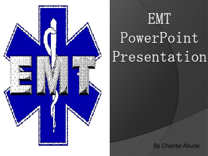EMT powerpoint