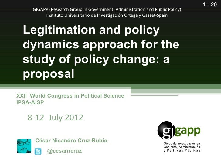 1 - 20      GIGAPP (Research Group in Government, Administration and Public Policy)           Instituto Universitario de I...