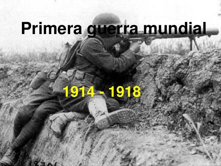 Ppt primera guerra mundial 1 historia universal for Caracteristicas de la contemporanea