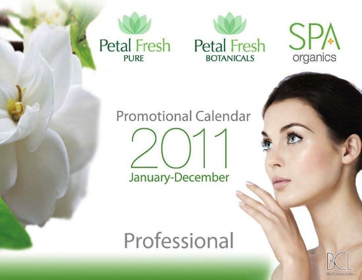 Promotion Calendar 2011 - International Pro