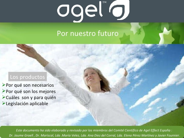 Presentacion Productos Agel