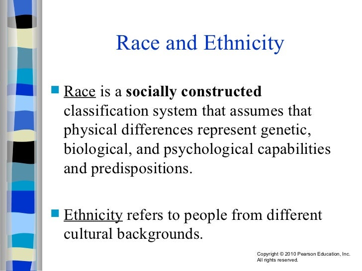 discuss how race and ethnicity perpetuate Race and ethnicity in society race and ethnicity are important concepts and plays a great deal among our society we will discuss race, ethnicity this essay will look at how the concepts of 'race' and 'ethnicity' perpetuate inequality in our society, a brief history of.