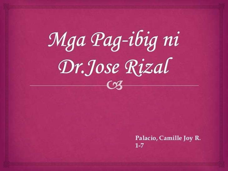 Palacio, Camille Joy R.1-7