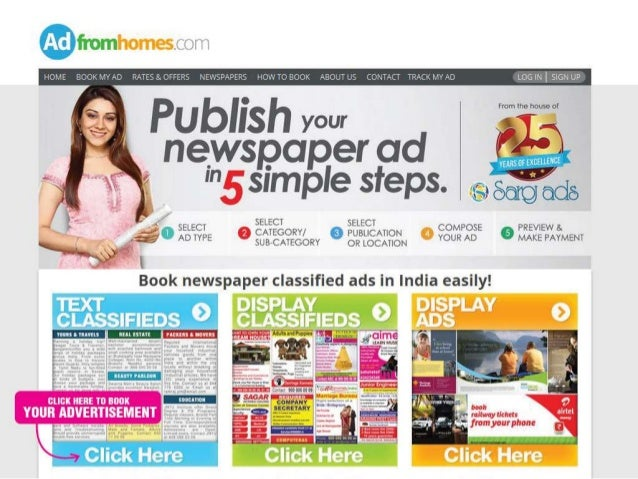 Display Classified Ads Display Ads For All Indian