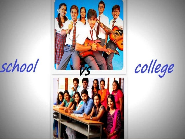 comparison between high school and college life A final difference a few students noted between high school and college classes was classroom atmosphere the following two quotations make it clear high school students should expect a difference in the way their classes will be run in college.