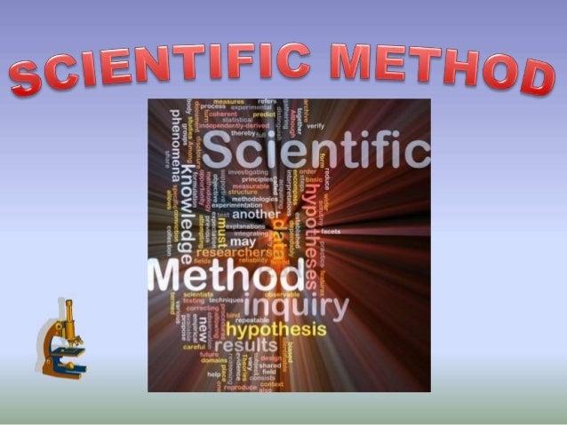 Ppt scientific method